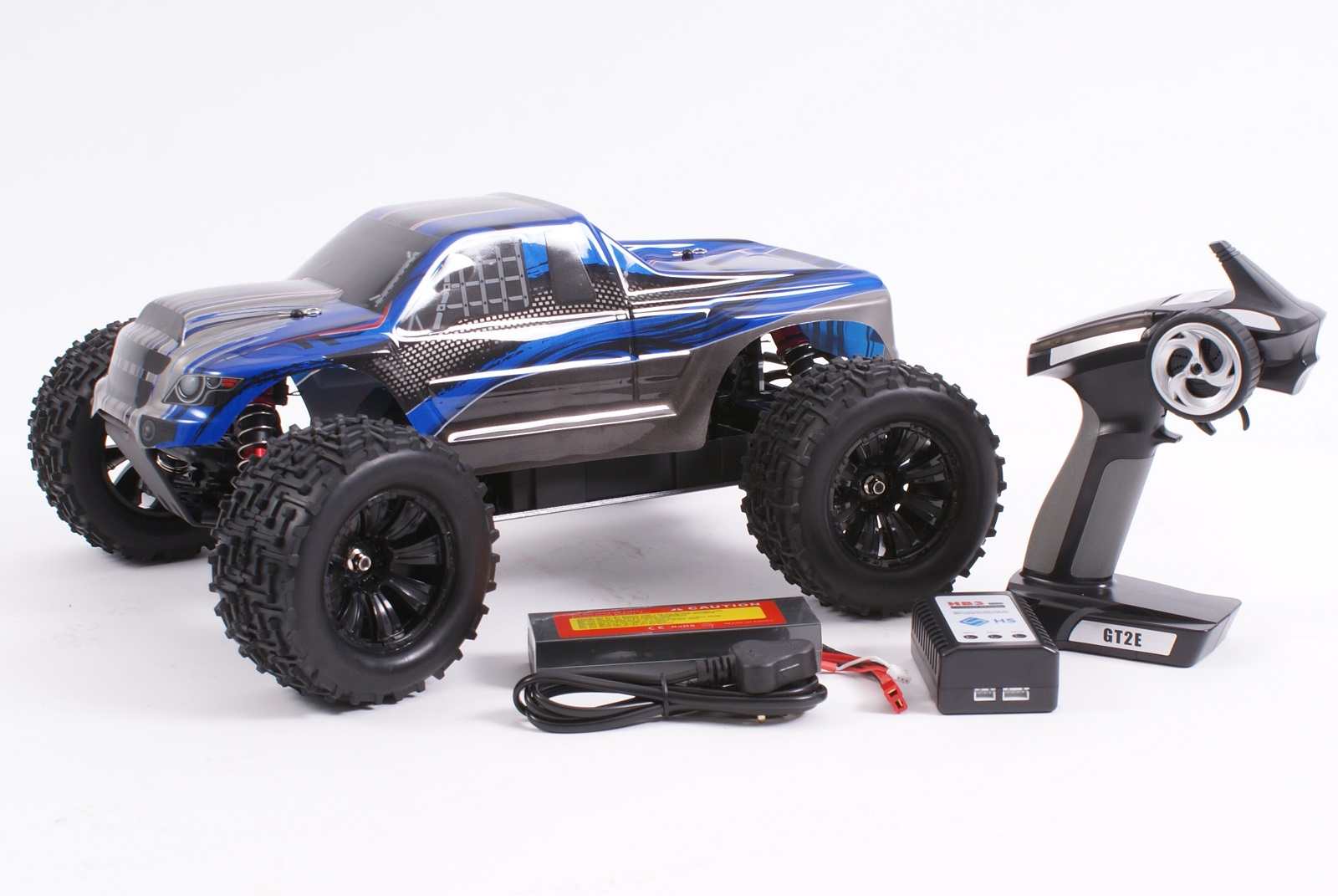RC 4WD elektromos Brushless off road autó SST Racing 1999-Kék